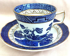 ROYAL DOULTON BOOTHS REAL OLD WILLOW TEA COFFEE CUP & SAUCER