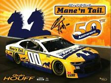 Autographed 2020 Quin Houff #00 Mane 'N Tail Postcard