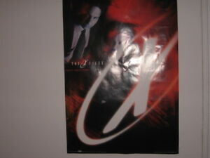 3 Vintage X-Files Posters