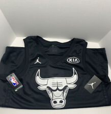 MICHAEL JORDAN Chicago BULLS Black 2018 Kia ALL STAR GAME Swingman Jersey 2XL 56