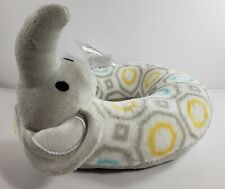 Cribmates Elephant Head Support For Car Seats Strollers Infant Toddlers Plush