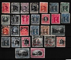 CHILI CHILE South America classics ones anno 1900 - 1910 TOP $$$$$$$$$$$$$$