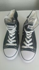 Andy-Z Boots Black White High Tops Size 5.5