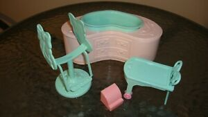 Vtg Lot of 4 My Little Pony Perm Shoppe Replacement Accessories CART REGISTER