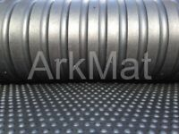 Two x ArkMat Bubble Top Rubber Stable Matting 6ftx4ft 18 mm Horse Mats