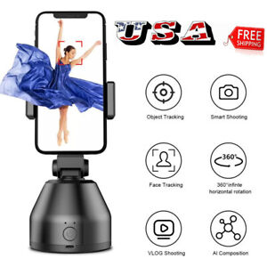 360°Rotation Face Tracking Smart AI Gimbal Personal Robot Cameraman Phone Holder