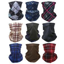 onepicebest Seamless Face Cover Scarf Bandanas Neck Gaiter Old Scotsman Clan Guthrie Tartan Plaid Bandana for Outdoors