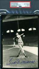 Ted Williams PSA DNA Coa Autograph Hand Signed 5x7 Photo