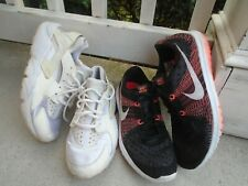 Womens Nike air lot of 2 pairs running shoes sz 10