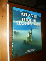 LIBRO: J. HARMPUR J. WESTWOOD ATLANTE DEI LUOGHI LEGGENDARI 1990 EUROCLUB FOTO a