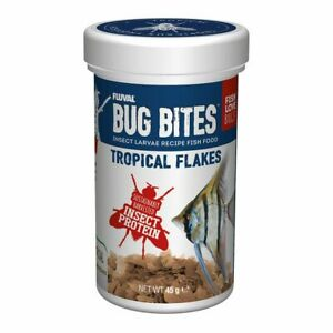 Fluval Bug Bites Tropical Flakes   Fish