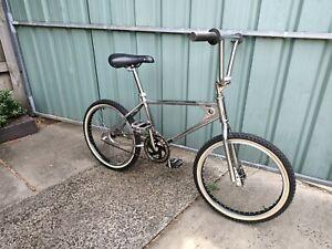 Old School Chrome Looptail Bmx Bike 80s Vintage Retro Frame 20 inch wheels
