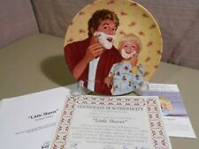 """"""" Little Shavers"""" Knowles Collector Plate 3rd Issue w/ Certification & Box 1985"""