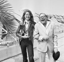 Tennessee Williams UNSIGNED photograph - L2040 - With Charlotte Rampling