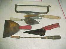 Vtg Garden & Other Tools EZY-CUT Seymour Smith Shears, Solder Iron, Trowel, Saw