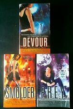 Lot Of 3 Melina Morel Books - Institut Scientifique 1-3 (PB) Smolder Prey Devour