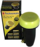 Technomate TM-1 Super High Gain Gold 0.1dB Single LNB HD Ready