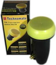 Technomate TM-1 Super Alta Ganancia Oro 0,1 Db Lnb Hd Ready
