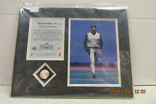 """Upper Deck Ken Griffey Jr """"Piece of the Action"""" Game Used Baseball Set"""