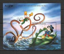 Disney Antigua & Barbuda 1996 Jules Verne - Twenty Thousand Leagues MS MNH
