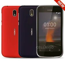 """Nokia 1 (8GB, 1GB de RAM) 4.5"""", 4G LTE Dual Sim GSM Desbloqueado de fábrica TA-1056"""