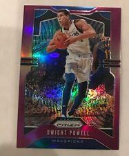 2019-20 Panini Prizm PURPLE Refractor Dwight Powell #34/75 Dallas Mavericks