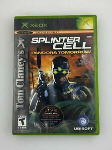 Tom Clancy's Splinter Cell: Pandora Tomorrow - Original Xbox Game - Tested