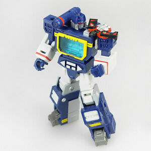 New In Stock Soundwave with Laserbeak MFT Hot Soldiers Actions Figures Kids Toys