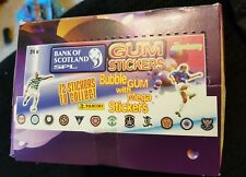 **NEW** Boxed Bank of Scotland Panini Stickers 1991-1992 - Gum Stickers