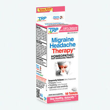 The Relief Products Migraine Headache Therapy Fast Dissolving Tablets, 50 Count