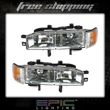 1992-1993 HONDA ACCORD Headlights Headlamps - Left Right Sides Pair