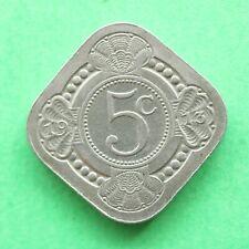1913 Netherlands 5 Cents SNo56299