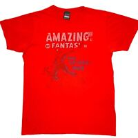 Marvel Mad Engine Amazing Spiderman Womens Red T-Shirt Size Medium