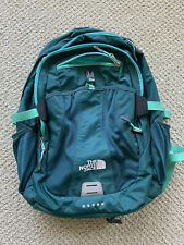 The North Face Recon daypack/book bag rare green color