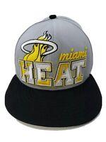 Miami Heat new era snapback hat Hardwood classics