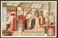 Modern 1900  Industrial Food Kitchen Cooks c1904 Trade Ad  Card