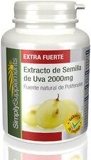 Extracto de Semilla de Uva 2000mg | 360 Comprimidos