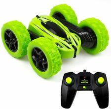 Cheerwing RC Car for Kids 360 Rotating 4WD Double Sided Stunt Car