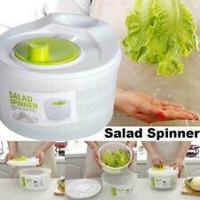 Salatschleuder mit Multireibe Salattrockner Sieb Schüssel Seiher A8B6