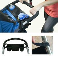 Travel Baby Pram Storage Bag Diaper Stroller Organizer Pushchair Bottle Baskets