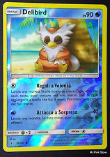 DELIBIRD 26/145 Holo Reverse Italiano POKEMON Sole Luna Guardiani Nascenti