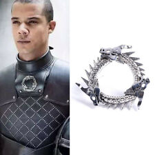 Grey Worm Pin Cosplay Prop Gift Game of Thrones Inspired Unsullied Dragon Brooch