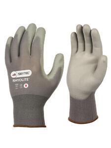 Skytec Rhyolite PU Coated Glove, Grey, 1 Pair