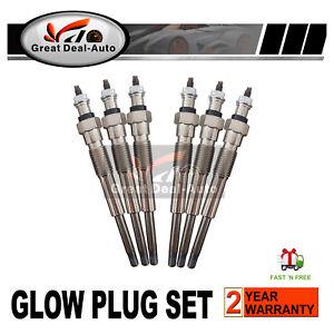 Glow Plugs HZJ75 HZJ78 HZJ79 HZJ105 For Toyota Landcruiser Diesel 6cyl 4.2 1HZ