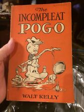 THE INCOMPLEAT POGO By WALT KELLY ~ SOFTCOVER 1954 ~ 1ST ED., FOURTH PRINTING.
