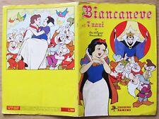 ALBUM FIGURINE PANINI,  I ed. 1980 - BIANCANEVE E I 7  NANI - Incompleto (-106)*