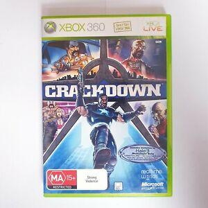 Crackdown - Microsoft Xbox 360 - Free Postage + Manual