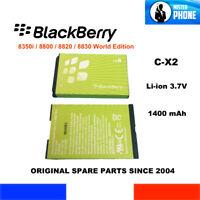 ORIGINAL BATTERY C-X2 CX2 RIM BLACKBERRY 8350i 8800 8820 8830 1400mAh 5,0Wh OEM