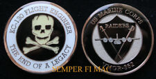 VMGR-352 RAIDERS FLIGHT ENGINEER US MARINES CHALLENGE COIN PIN UP C130 MR C VMGR