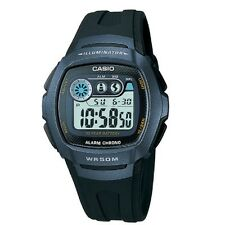 Casio W-210-1BV Digital Chronograph Watch With Blue Resin Band with Box Included
